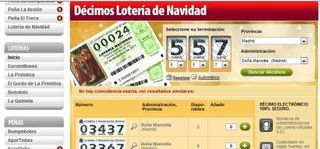 Jugar loteria del niño 2012