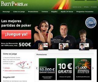 Partypoker.es registrar