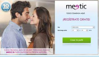 Meetic encuentros online